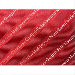 Men's Christmas Tie Multi Language Greetings